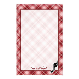 Cute Music Note Stationery