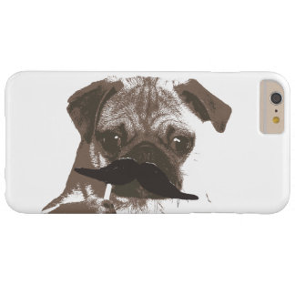 Cute Mustache Pug iPhone 6 Plus Case