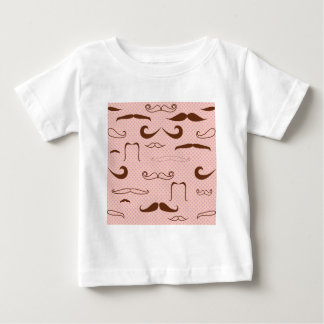 Cute mustaches baby T-Shirt