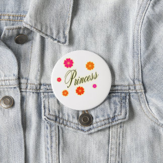 Cute n beautiful 7.5 cm round badge