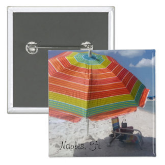 Cute Naples, FL Beach Button
