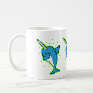 Cute Narwhal Dabbing Coffee Mug