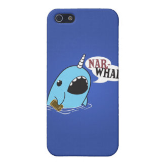 Cute narwhal iPhone case