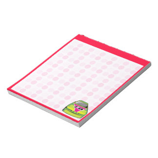 Cute Nascar Notepad