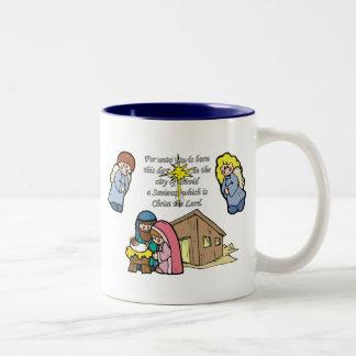 Cute Nativity Scene Coffee Mugs