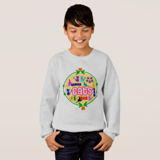 😻🐾↷❤Cute Naughty Cat Family Earth-friendly Fab Sweatshirt