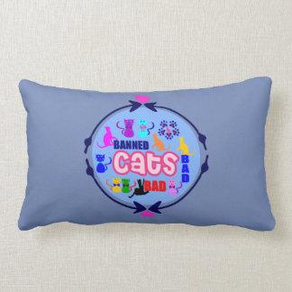😻🐾↷❤Cute Naughty Cat Family Fabulous Lumbar Lumbar Cushion
