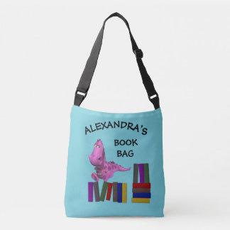 Cute Naughty Pink Dragon Crossbody Bag