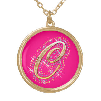 Cute Necklace with Initial C