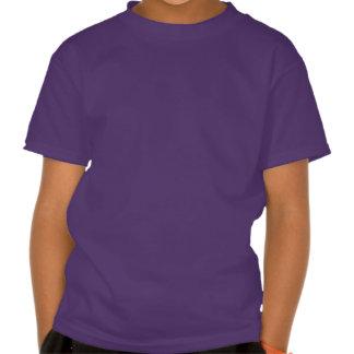 Cute Nerd Raccon Initial L Shirt