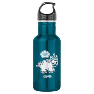Cute Nerd Unicorn 532 Ml Water Bottle