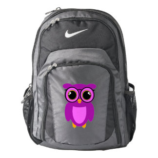 Cute Nerdy Owl Backpack