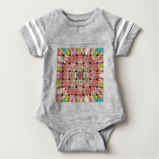 Cute Nice and Lovely Woven Design Baby Bodysuit