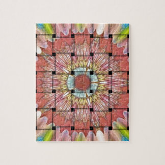 Cute Nice and Lovely Woven Design Jigsaw Puzzle