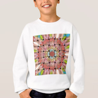 Cute Nice and Lovely Woven Design Sweatshirt