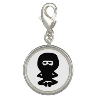 Cute Ninja Meditation Charm