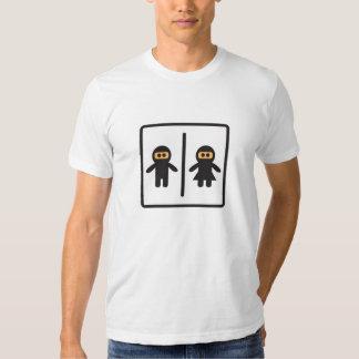 cute ninja toilet icon t shirt