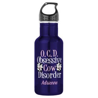 Cute Obsessive Cow Disorder 532 Ml Water Bottle