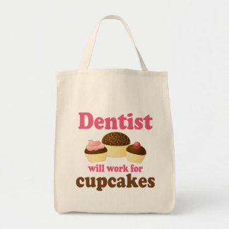 Cute Occupation Chocolate Cupcakes Dentist