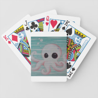 Cute Octopus Bicycle Playing Cards