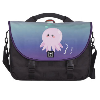 Cute octopus cartoon laptop computer bag
