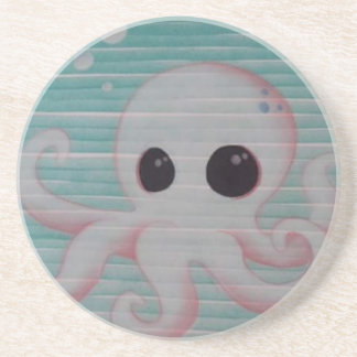 Cute Octopus Coaster