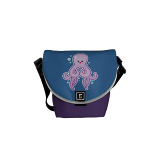 Cute Octopus Courier Bags