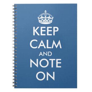 Cute office supplies | Keepcalm writing notepads Notebook