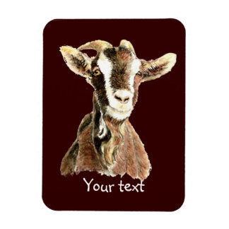 Cute Old Goat, Farm Animal Humor Magnet