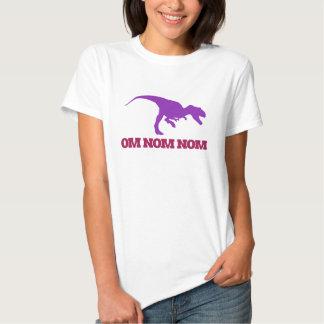 Cute Omnom Dinosaur T Shirt
