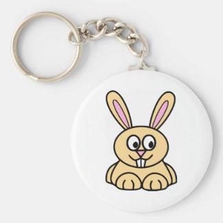 Cute Orange Bunny Rabbit Keychain