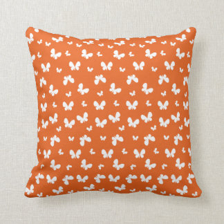 Cute orange Butterfly Pattern Cushions