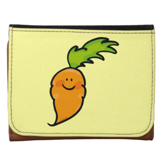 cute orange carrot wallets