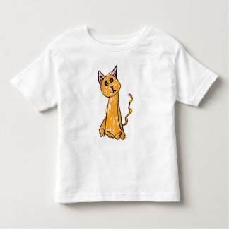 Cute Orange Cat TShirt