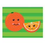 Cute Orange Postcards