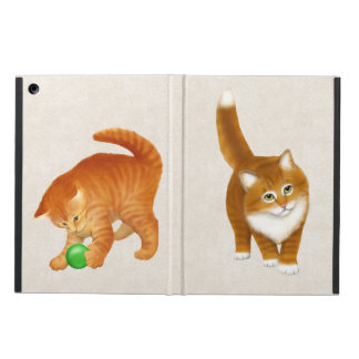 Cute Orange Tabby Kittens iPad Air Case