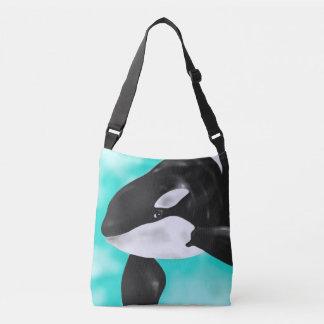 Cute Orca Whale Crossbody Bag
