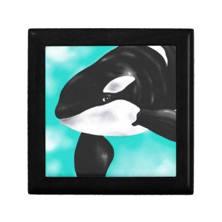 Cute Orca Whale Gift Box