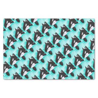 Cute Orca Whale Tissue Paper