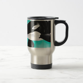 Cute Orca Whale Travel Mug
