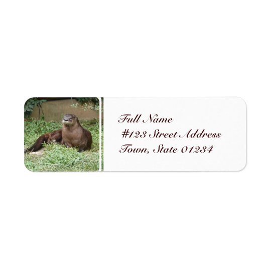 Cute Otter Mailing Labels