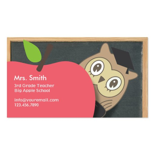 Owl business cards 6000 owl busines card template designs for Owl business cards