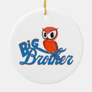 Cute Owl Big Brother Christmas Ornaments