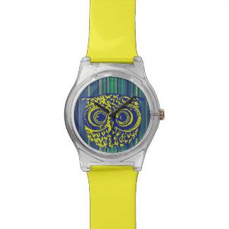 cute owl bird wristwatch