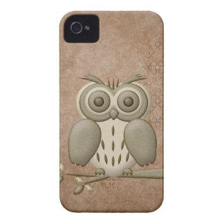 Cute Owl BlackBerry Bold iPhone 4 Case-Mate Case