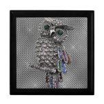cute owl bling jewelry box