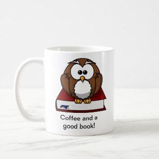 Cute Owl Book Mug