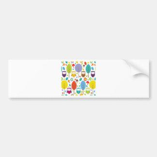 Cute Owl Bumper Sticker
