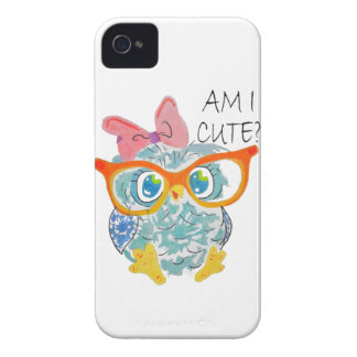 Cute Owl Case-Mate iPhone 4 Case