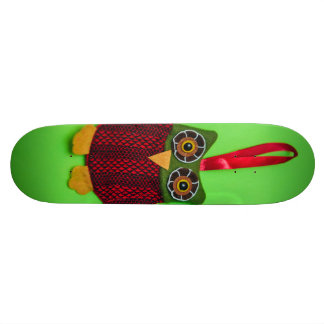 Cute owl decoration custom skate board